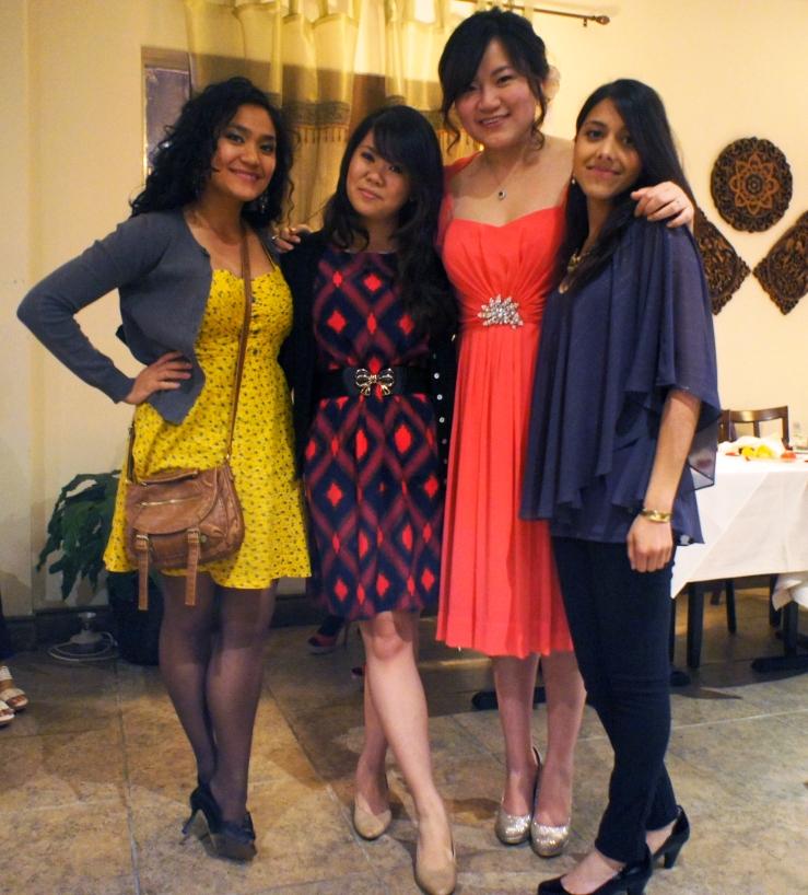Amy, Jilly, Amanda and Sharene