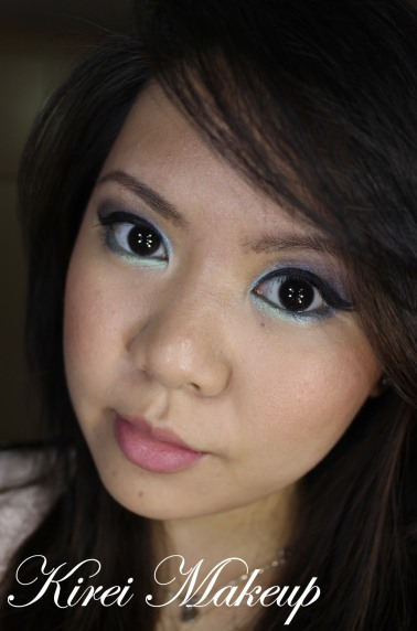 Colorful Makeup tutorial for Asians