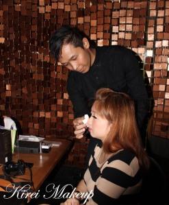 Shu Uemura makeup demo