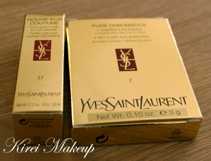 YSL Eyeshadow Quad