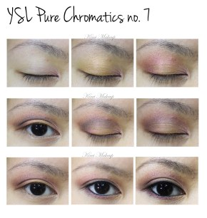 YSL Pure Chromatics no. 7