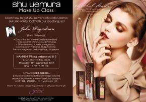 Shu Uemura Beauty Workshop