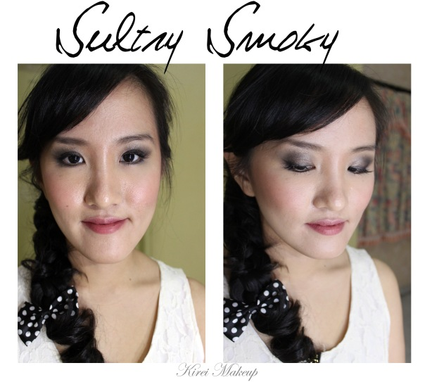 Smoky eyes for makeup