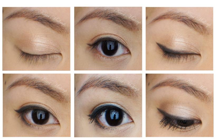 Cat liner makeup