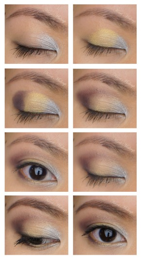 Pantone Metal eyeshadows